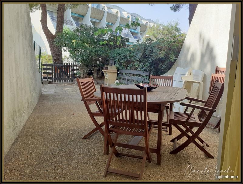 Appartement en rez-de-jardin de 47  m2 - Le Grau-du-Roi (30240)