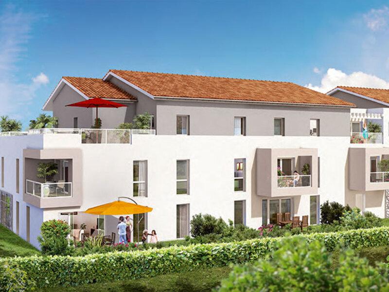 Appartement de 61  m2 - Le Taillan-Médoc (33320)