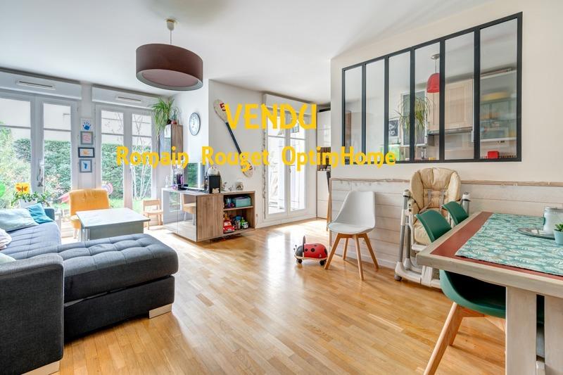Appartement en rez-de-jardin de 67  m2 - Chatou (78400)