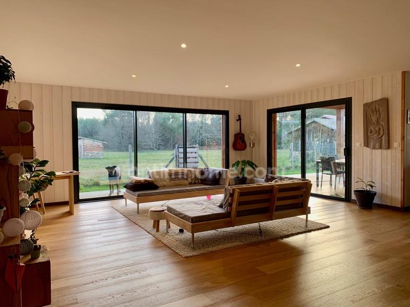 Maison à ossature bois de 142  m2 - Carcans (33121)