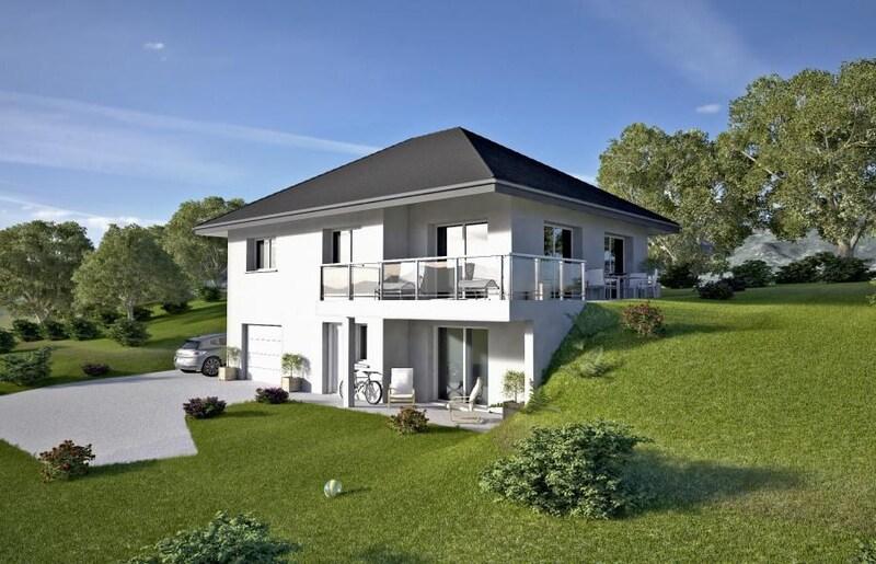 Maison contemporaine de 107  m2 - Motz (73310)