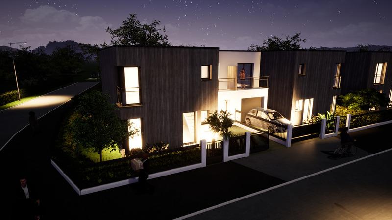 Maison en vefa de 93  m2 - Strasbourg (67000)