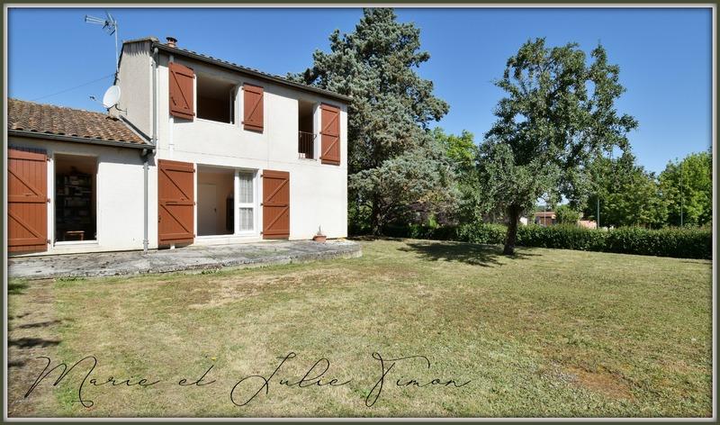 Maison mitoyenne de 93  m2 - Gragnague (31380)