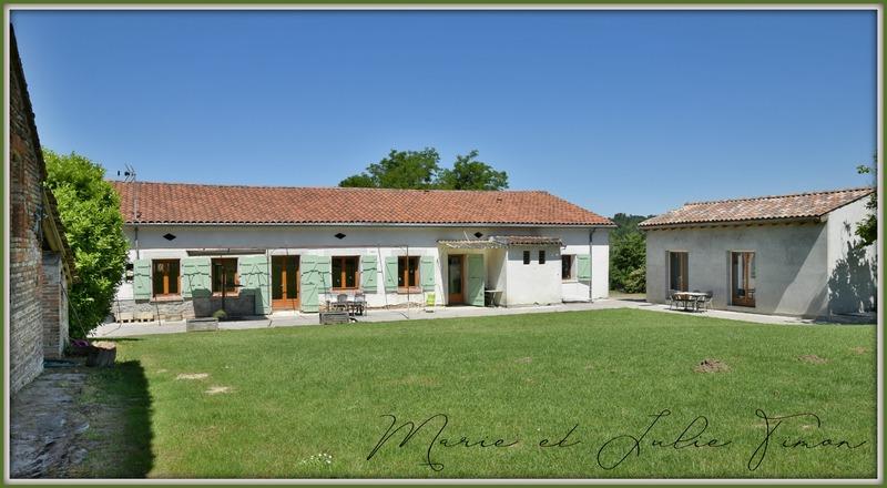Maison rénovée de 245  m2 - Gragnague (31380)