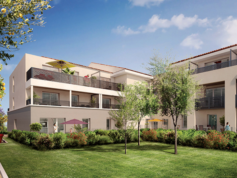 Appartement de 84  m2 - Cuers (83390)