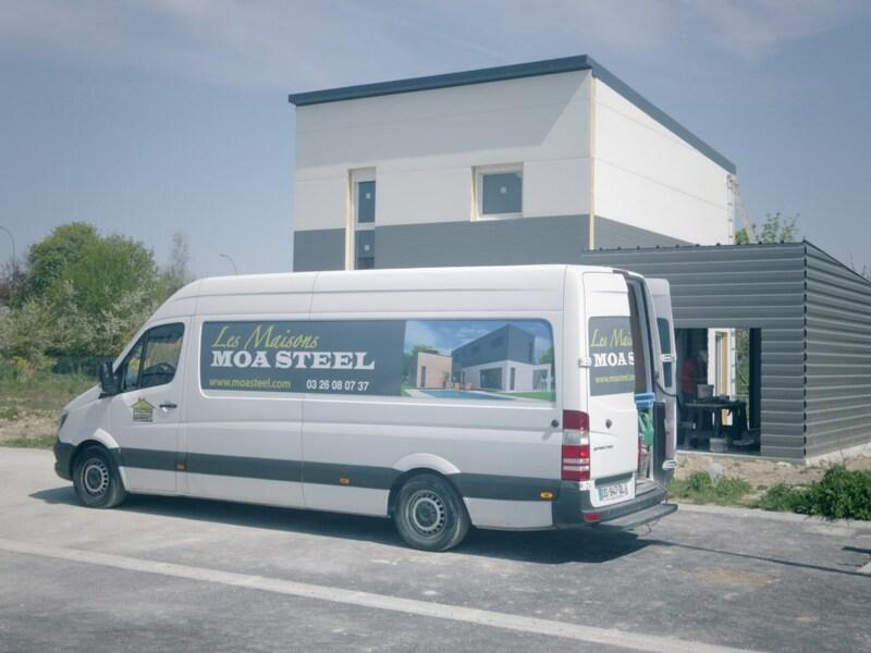 Maison contemporaine de 90  m2 - Amagne (08300)