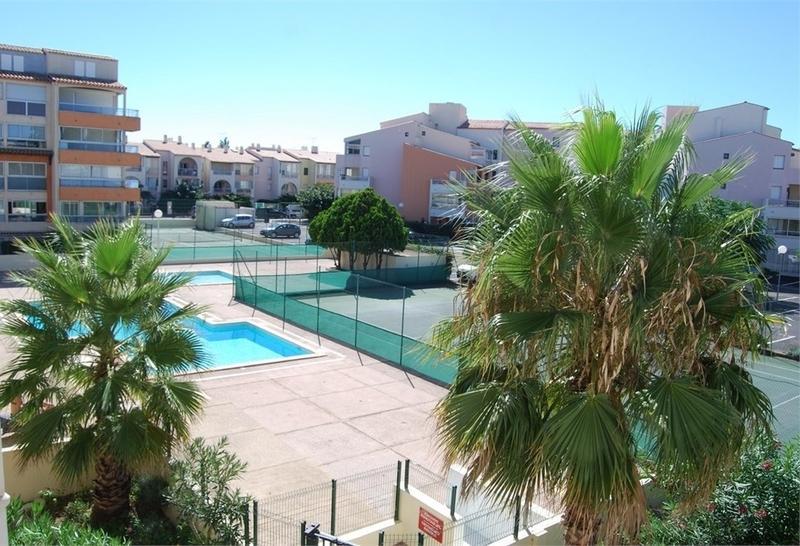 Appartement en résidence de 31  m2 - Agde (34300)