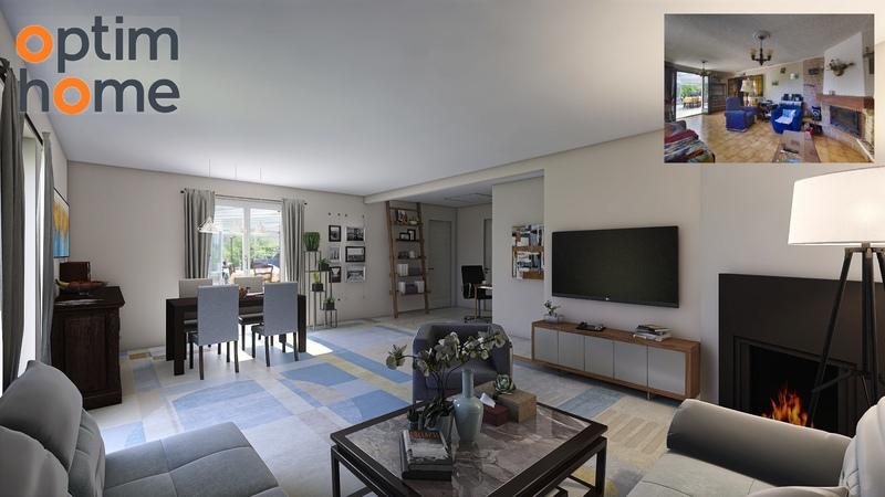 Maison plain-pied de 132  m2 - Mimet (13105)
