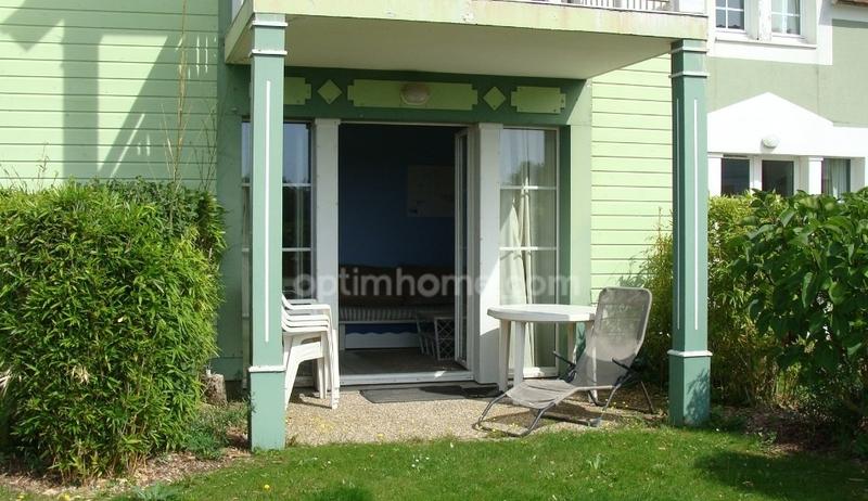 Appartement en rez-de-jardin de 35  m2 - Fort-Mahon-Plage (80120)