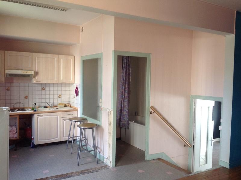 Appartement à rénover de 50  m2 - Saint-Étienne (42000)