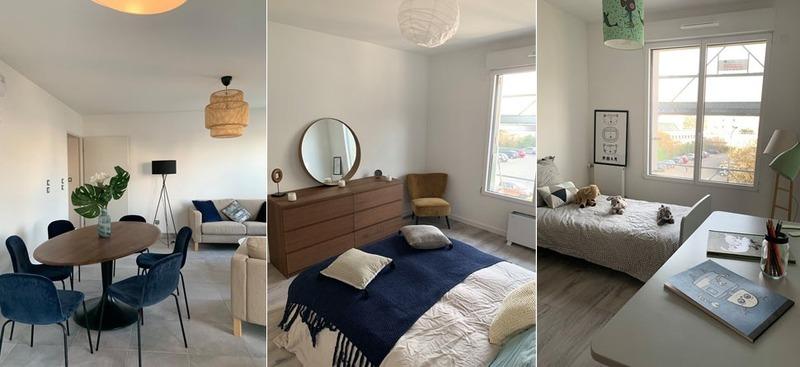 Appartement en frais réduits de 90  m2 - Villeurbanne (69100)