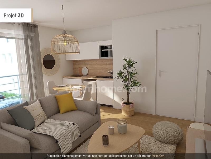 Appartement de 27  m2 - Goven (35580)