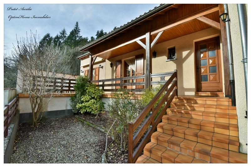 Maison plain-pied de 108  m2 - Molompize (15500)