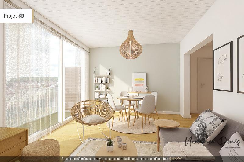 Appartement 1960 de 62  m2 - Saint-Étienne-du-Rouvray (76800)