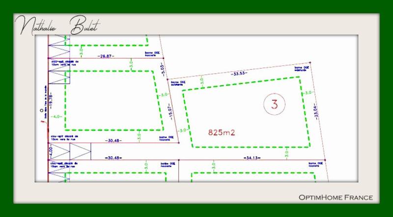 Terrain constructible de   m2 - Cessenon-sur-Orb (34460)
