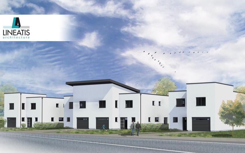 Maison contemporaine de 151  m2 - Chanteheux (54300)