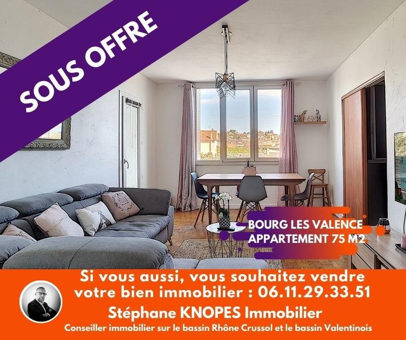 Appartement de 75  m2 - Bourg-lès-Valence (26500)