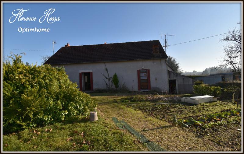 Maison à rénover de 61  m2 - Saint-Vallier (71230)