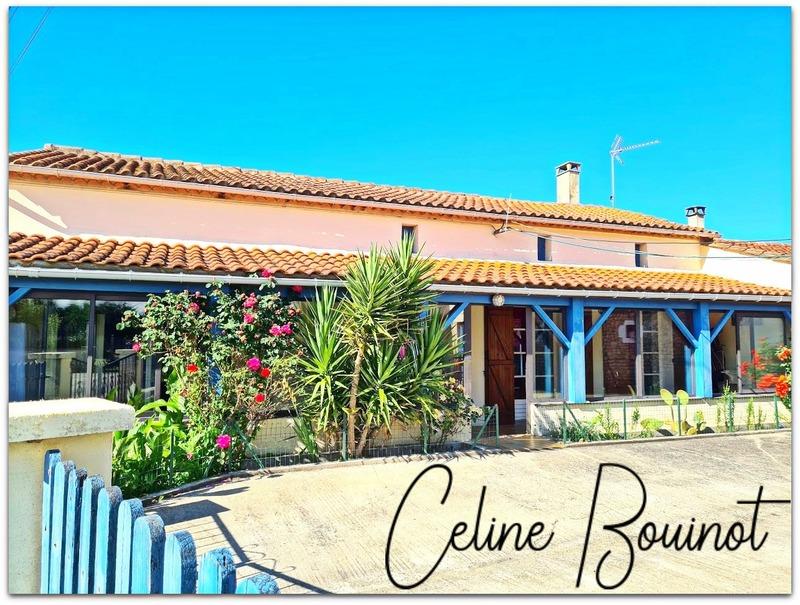 Maison de 130  m2 - Saint-Bonnet-sur-Gironde (17150)