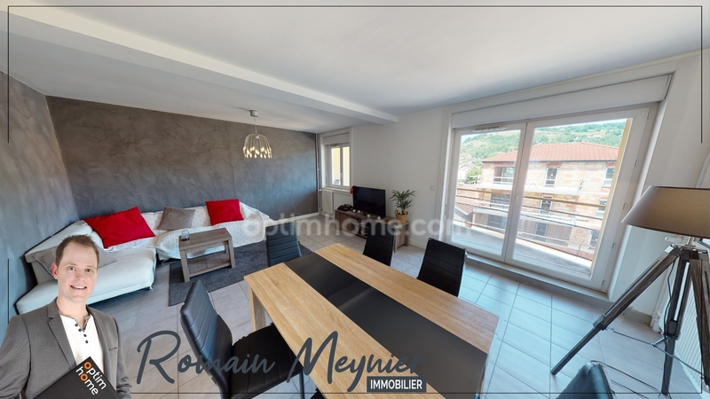 Appartement de 72  m2 - Saint-Marcellin (38160)