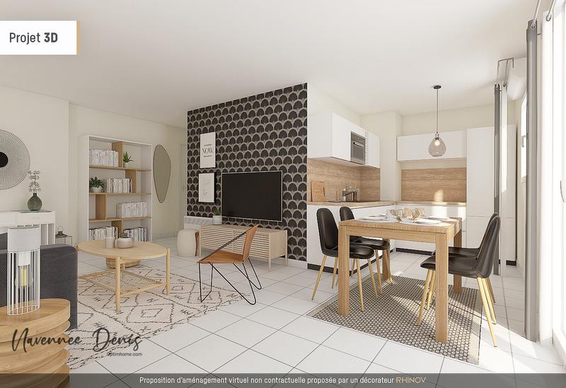 Appartement de 59  m2 - Rouen (76000)