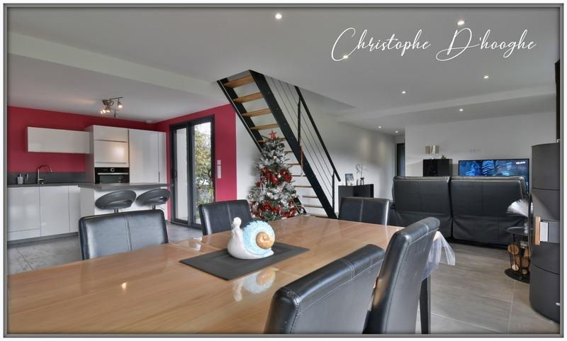 Maison contemporaine de 110  m2 - Lons-le-Saunier (39000)