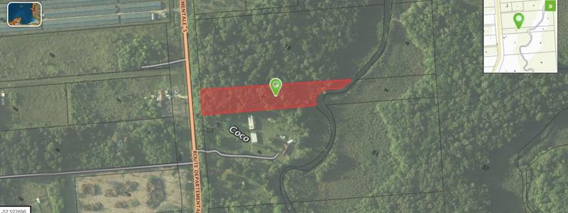 Terrain agricole de   m2 - Montsinéry-Tonnegrande (97356)