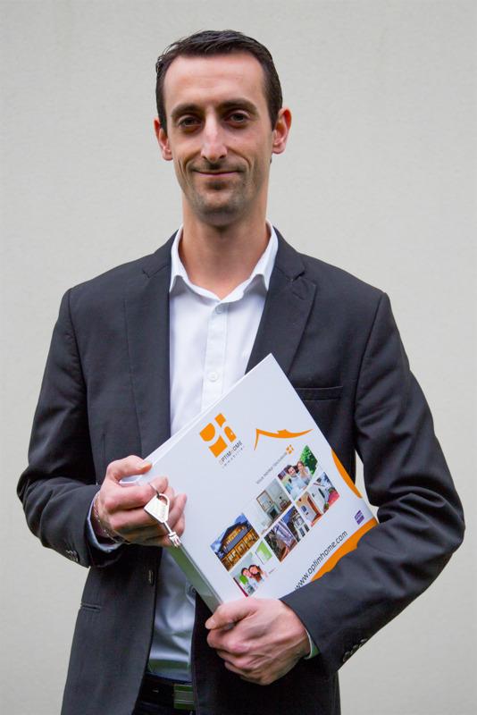 Conseiller immobilier Optimhome Alexis LACHAUD