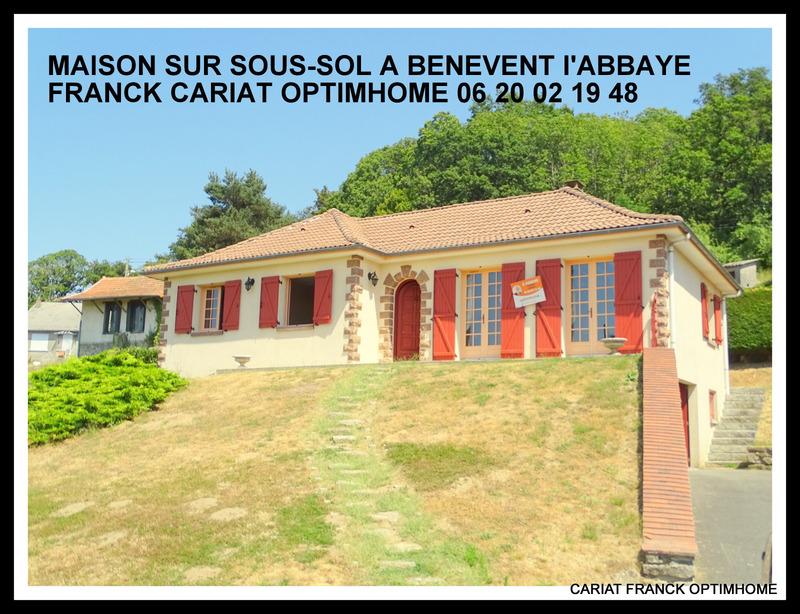 Maison contemporaine de 108  m2 - Bénévent-l'Abbaye (23210)