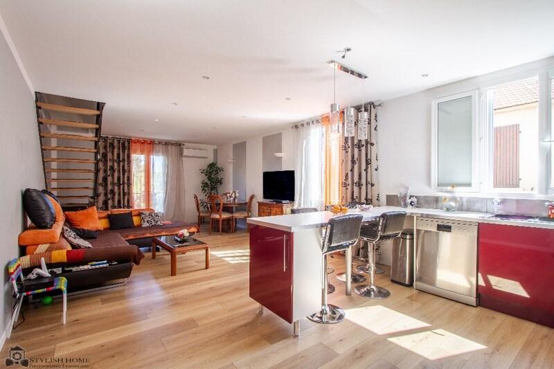 Appartement rénové de 98  m2 - Marseille (13012)