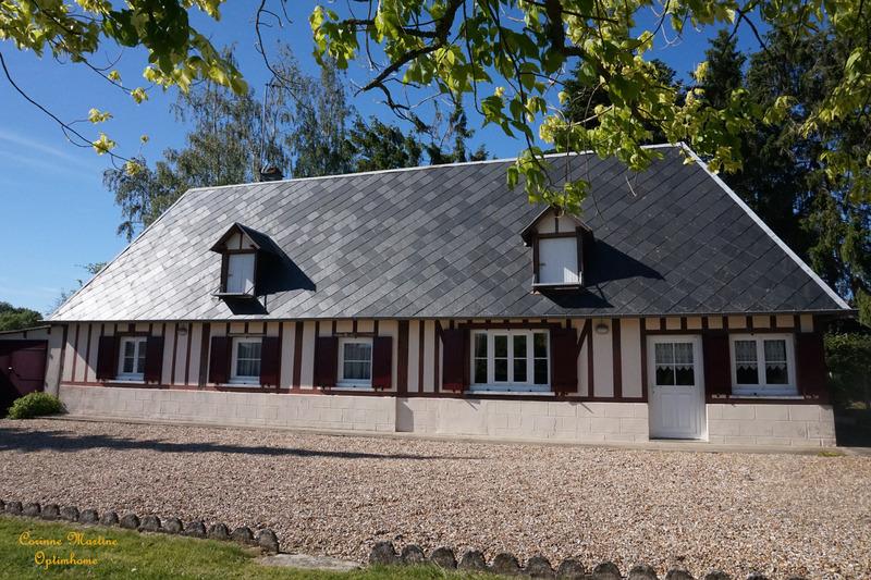 Longère de 83  m2 - Beaumont-le-Roger (27170)