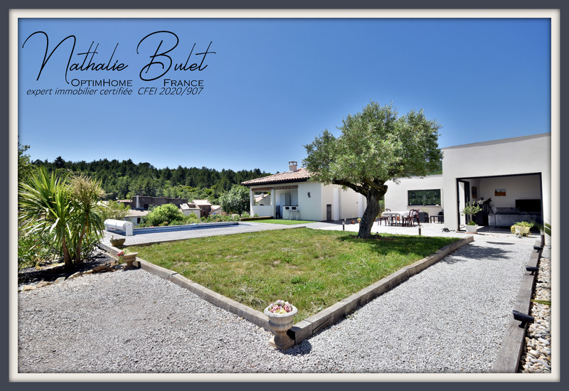 Maison contemporaine de 160  m2 - Babeau-Bouldoux (34360)