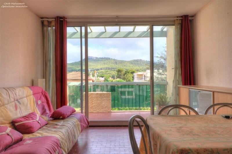 Appartement en résidence de 36  m2 - Saint-Cyr-sur-Mer (83270)