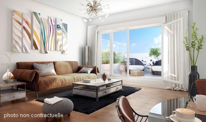 Appartement de 34  m2 - Marseille (13013)