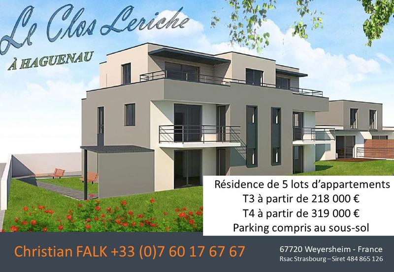 Appartement de 68  m2 - Haguenau (67500)
