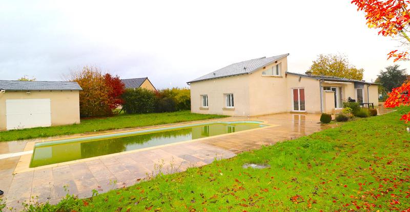 Villa d'architecte de 163  m2 - Saint-Florent-sur-Cher (18400)