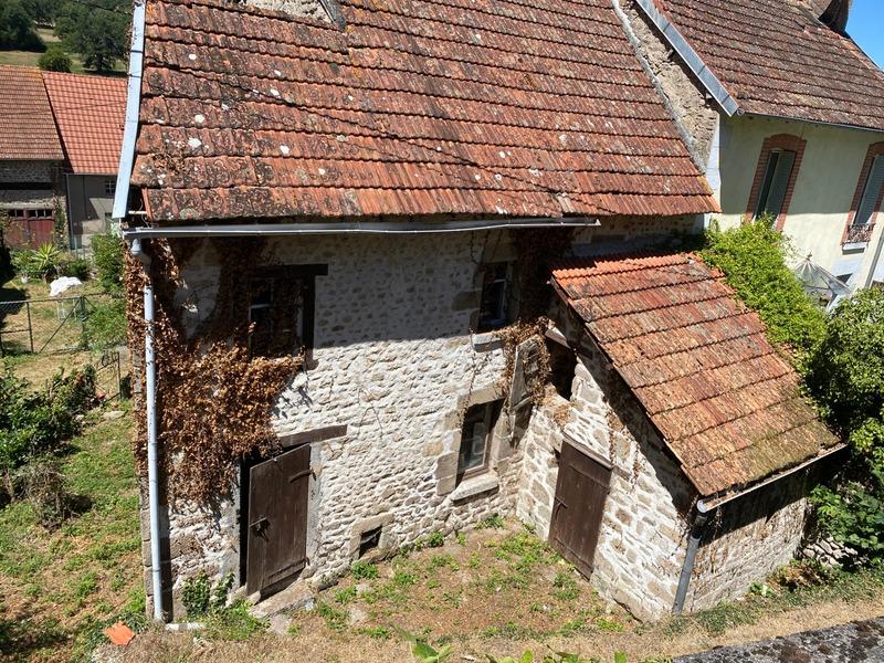 Maison de village de 36  m2 - Bussière-Dunoise (23320)