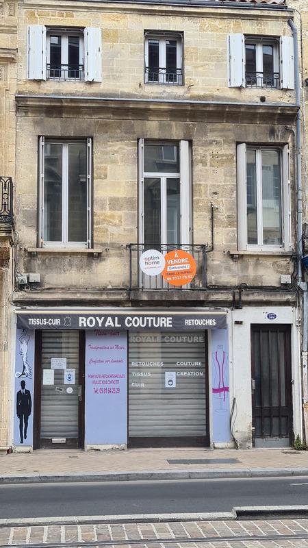 Immeuble de 0  m2 - Bordeaux (33300)