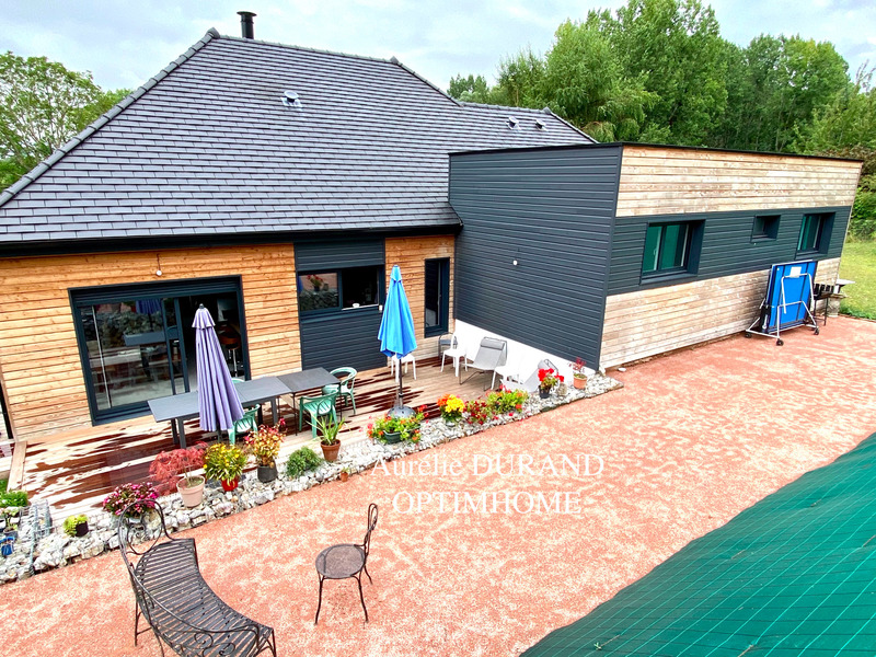 Maison à ossature bois de 134  m2 - Honfleur (14600)