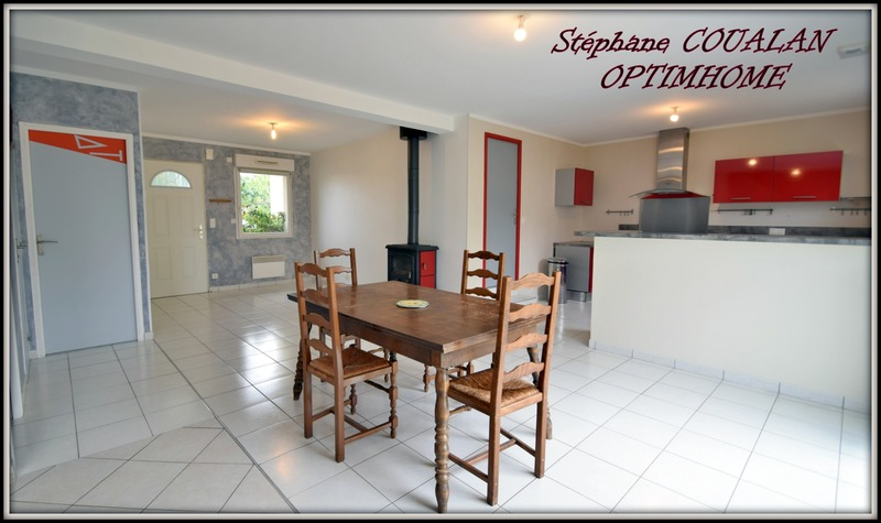 Maison contemporaine de 114  m2 - Saint-Erblon (35230)