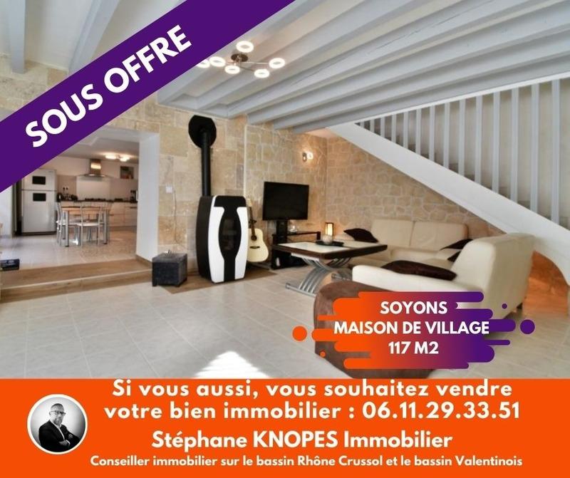 Maison de village de 117  m2 - Soyons (07130)