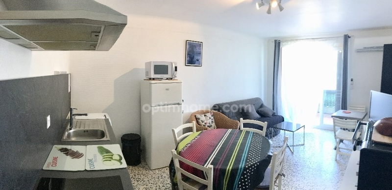 Appartement en résidence de 39  m2 - Canet-en-Roussillon (66140)
