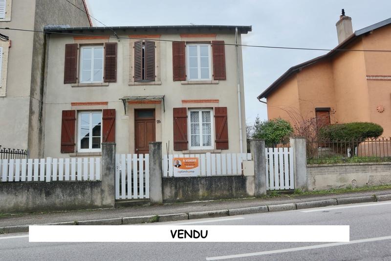 Maison à rénover de 110  m2 - Lunéville (54300)