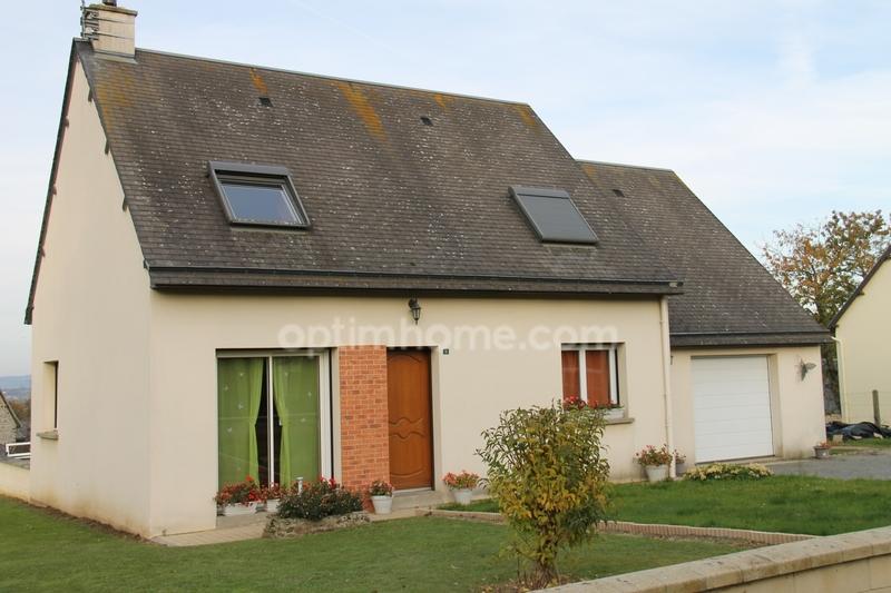 Maison de 94  m2 - Saint-Aubin-de-Terregatte (50240)