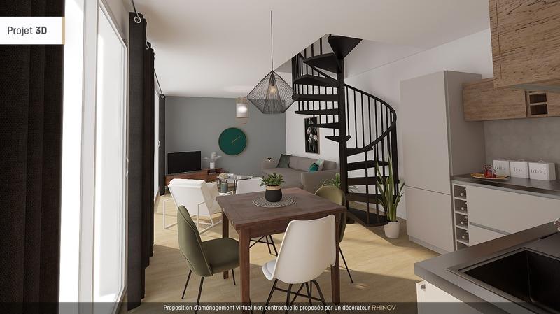 Maison rénovée de 100  m2 - Lille (59800)