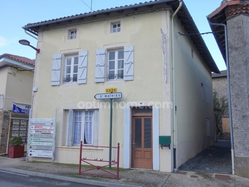 Maison de 134  m2 - Cussac (87150)