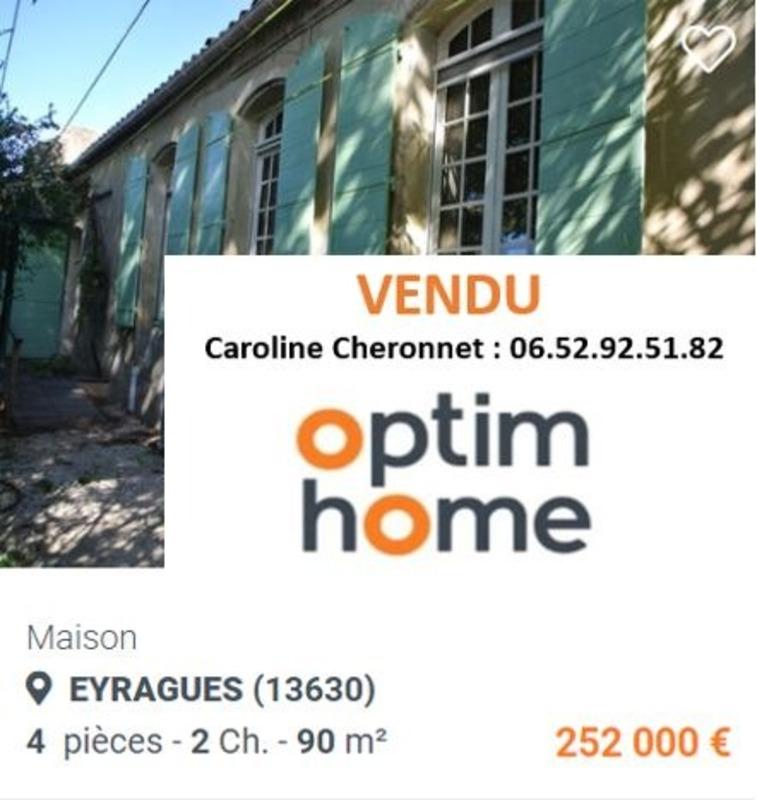 Maison de 90  m2 - Eyragues (13630)