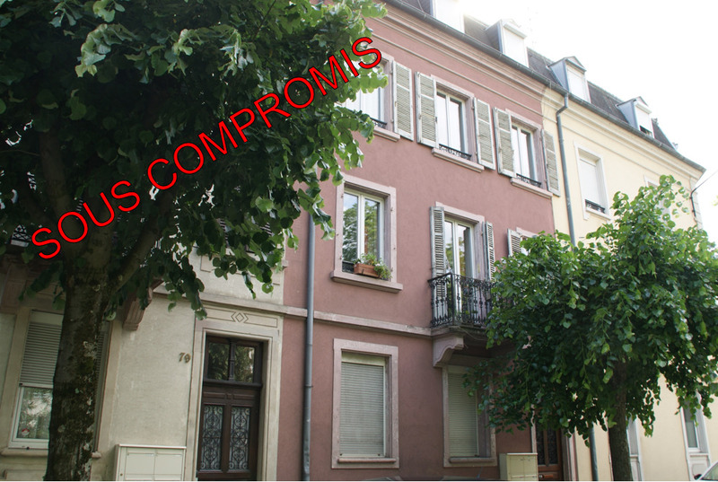 Appartement ancien de 48  m2 - Mulhouse (68200)