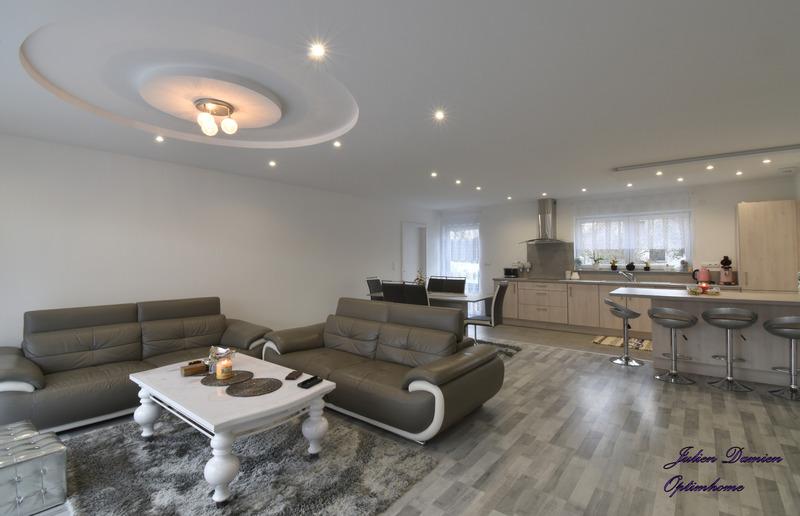 Maison contemporaine de 125  m2 - Uxegney (88390)