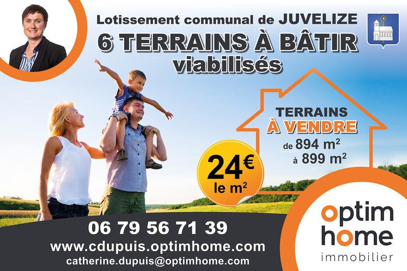 Terrain constructible de   m2 - Sarrebourg (57400)